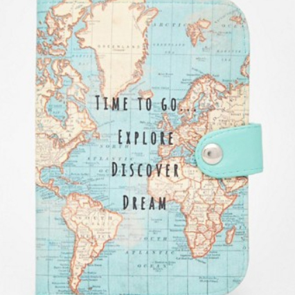 Passport holder discover dream explore Asos