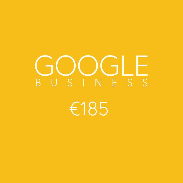 Social media tarieven - Google business met fotografie