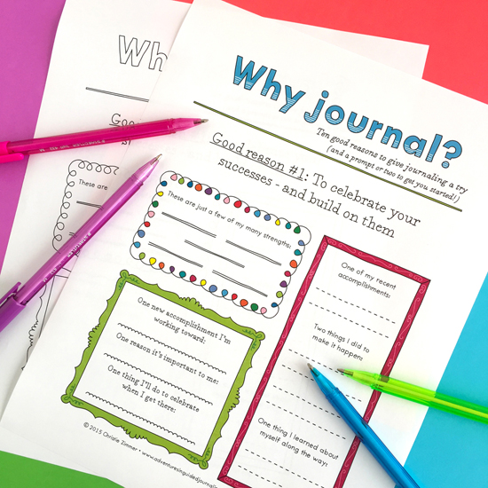10 good reasons to journal -