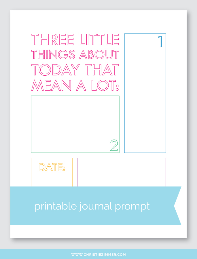 little things printable - Free!