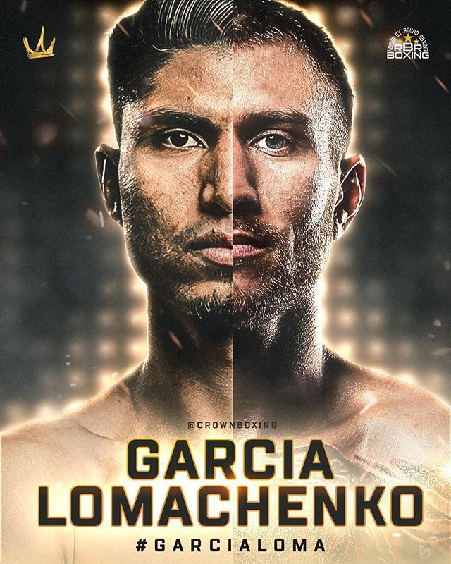 Who wins?? @teammikeygarcia vs. @lomachenkovasiliy #GarciaLoma #LomaGarcia #CrownBoxing #RBRBoxing #Boxing #Boxeo 🇲🇽🇺🇸🏆🇺🇦