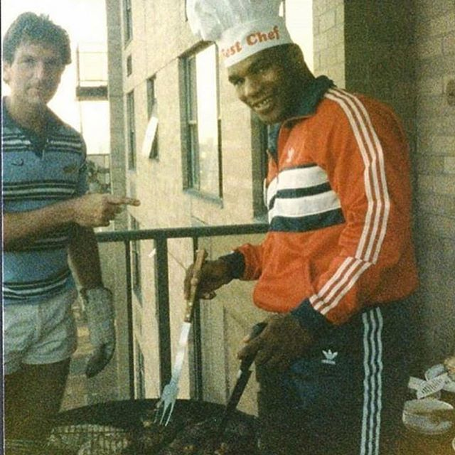 Chef @miketyson. #TysonTuesday #TacoTuesday