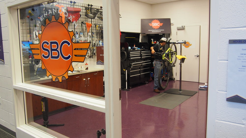 SBC is now at JMU!   Come visit our new shop, Cycle Central, located in UREC on JMU campus!   About Cycle Central