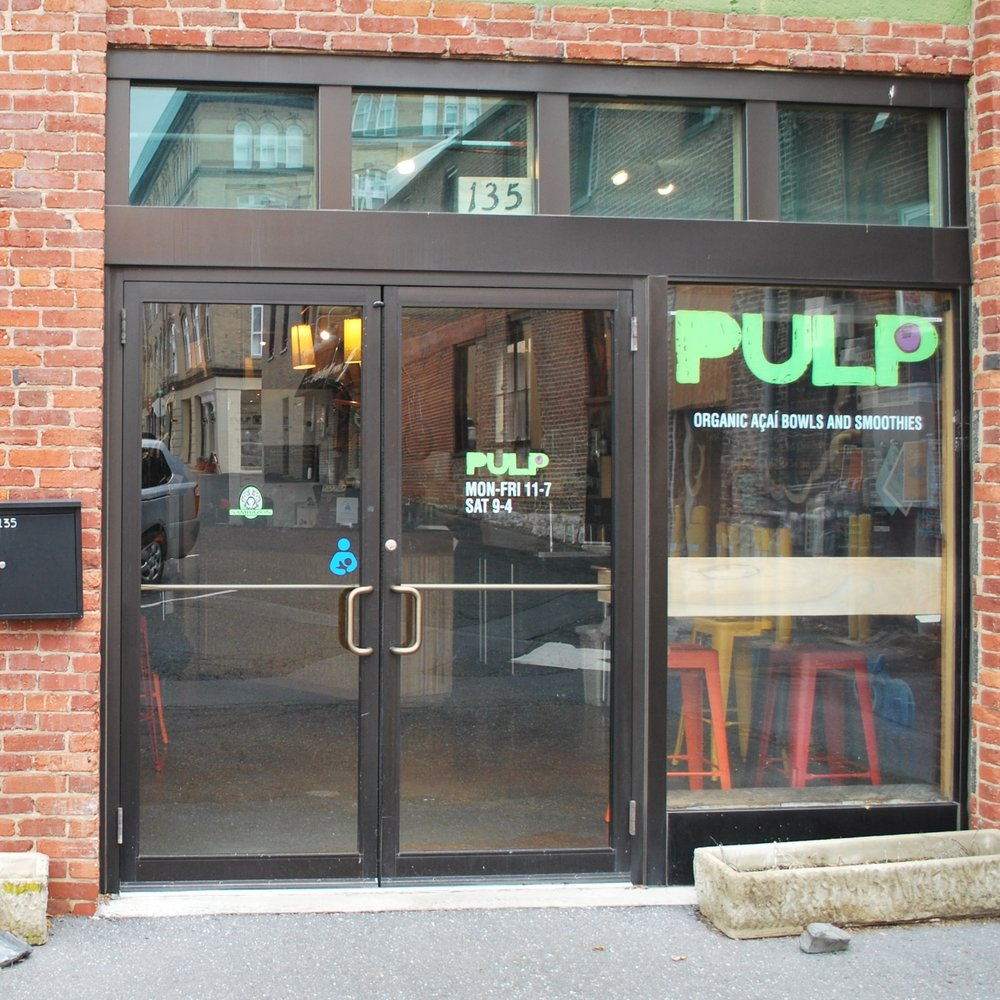 Pulp smoothie cafe -