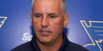 BLUES LOOKING FOR TOP-6 FORWARD -