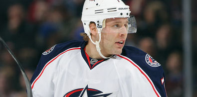 JOHNSON ASKS COLUMBUS FOR TRADE -