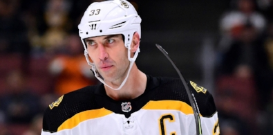 CHARA WANTS EXTENSION WITH BRUINS -