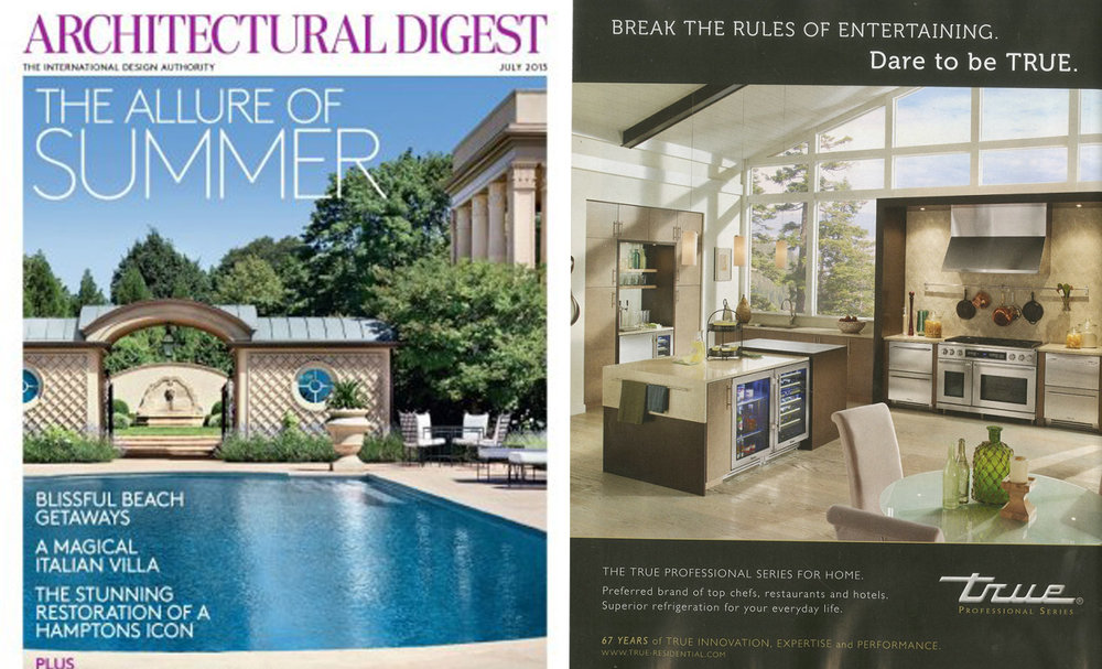 Architectural Digest , July 2015