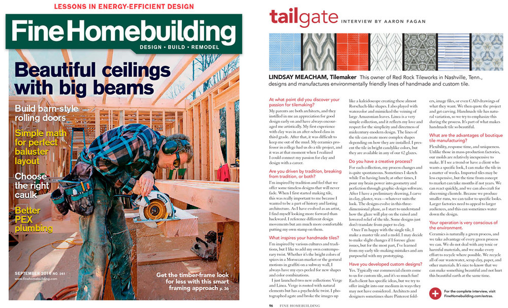 Fine Homebuilding , August/September 2016