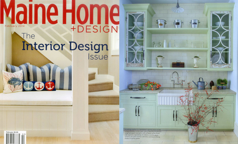 Maine Home + Design , February 2014