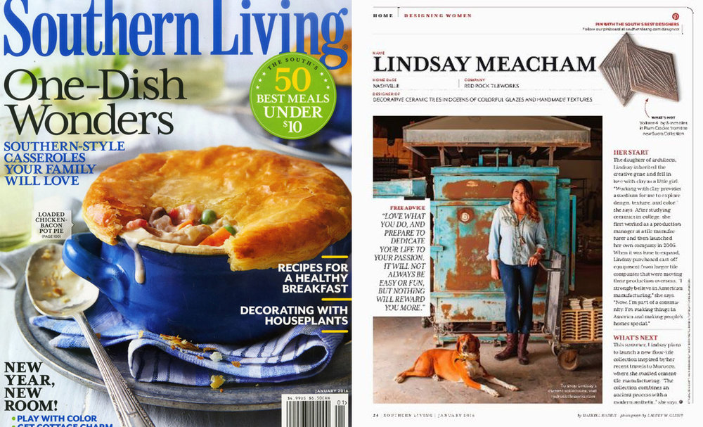Southern Living , January 2014
