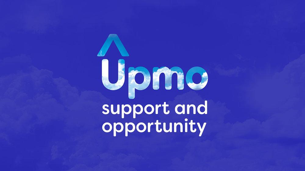 Upmo Brand identity