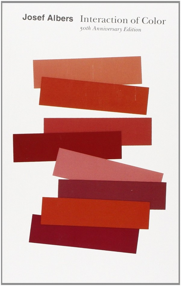 1. Interaction of Color by Josef Albers  (More info on Amazon)