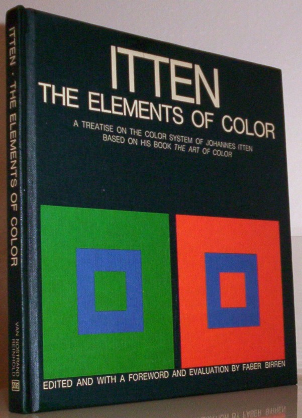 5. The Elements of Color: A Treatise on the Color System of Johannes Itten Based on his book The Art of Color  (More info on Amazon)