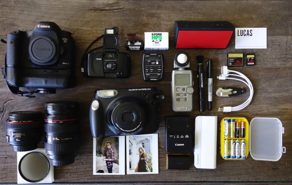 Bag 1: The studio and/or job bag -
