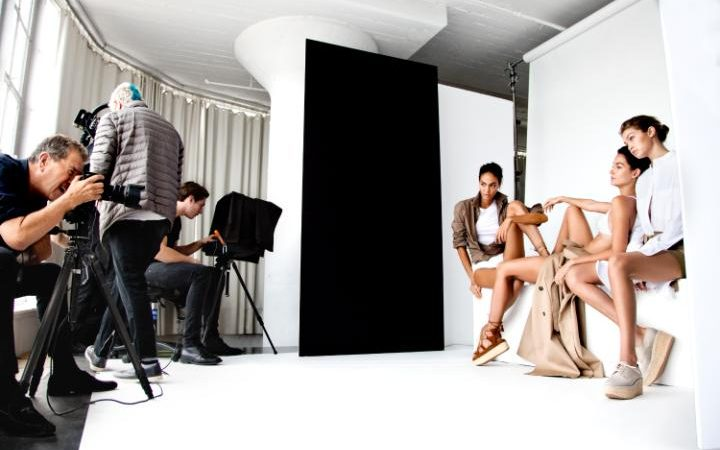 MARIO TESTINO SHOOTING FOR STUART WEITZMAN