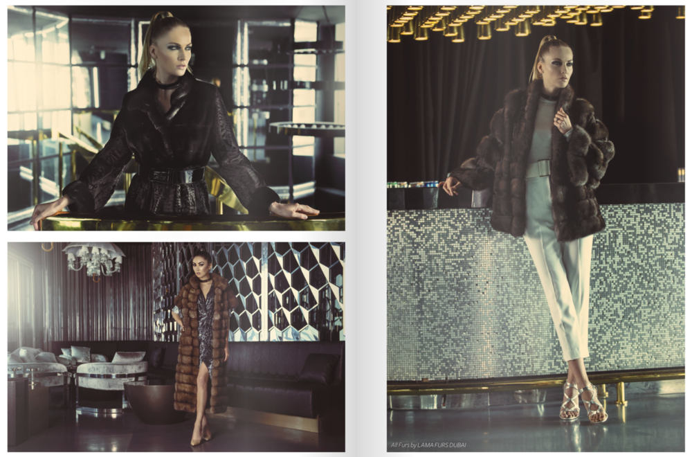 "Breed Magazine Vol. 3 ""Royal Luxe"" Photography by Michael Kruger"