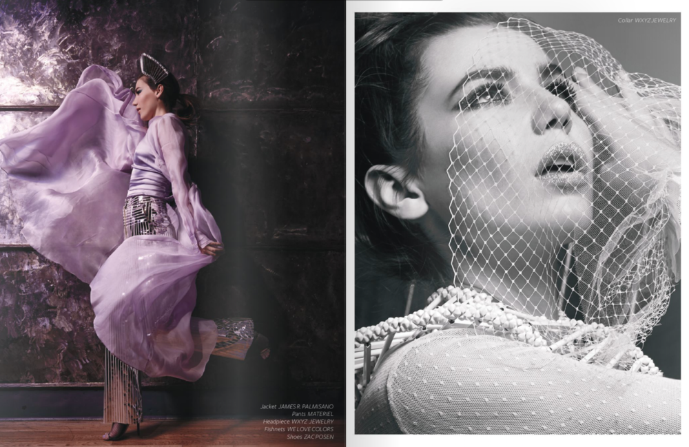 "Breed Magazine Vol. 2 ""Wild Orchid"" Photography by Kelley Dulcich"