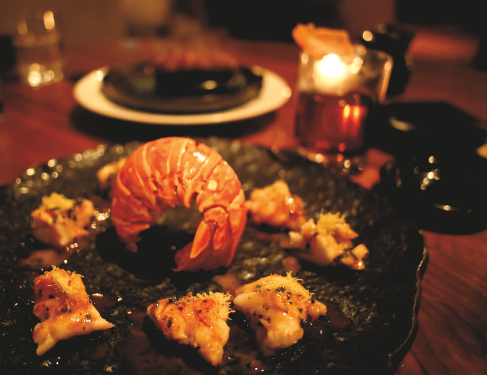 Nova Scotia Lobster Tail & Japanese Wagyu Ishi-Yaki