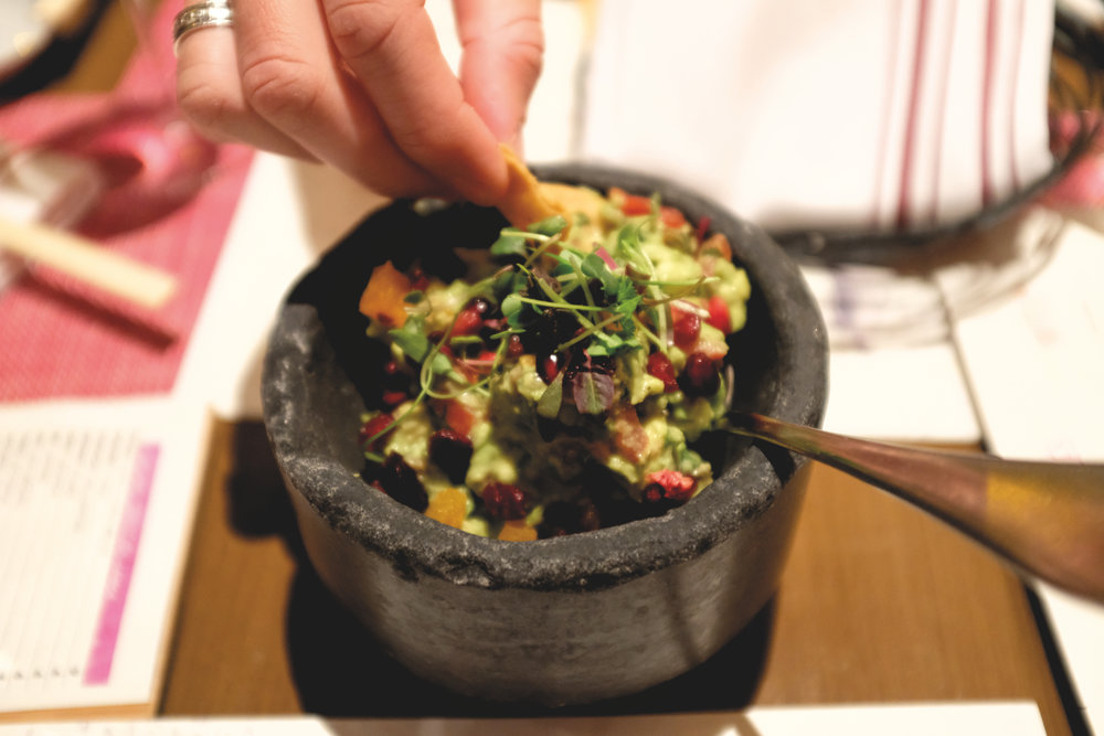 Pomegranite Guacamole