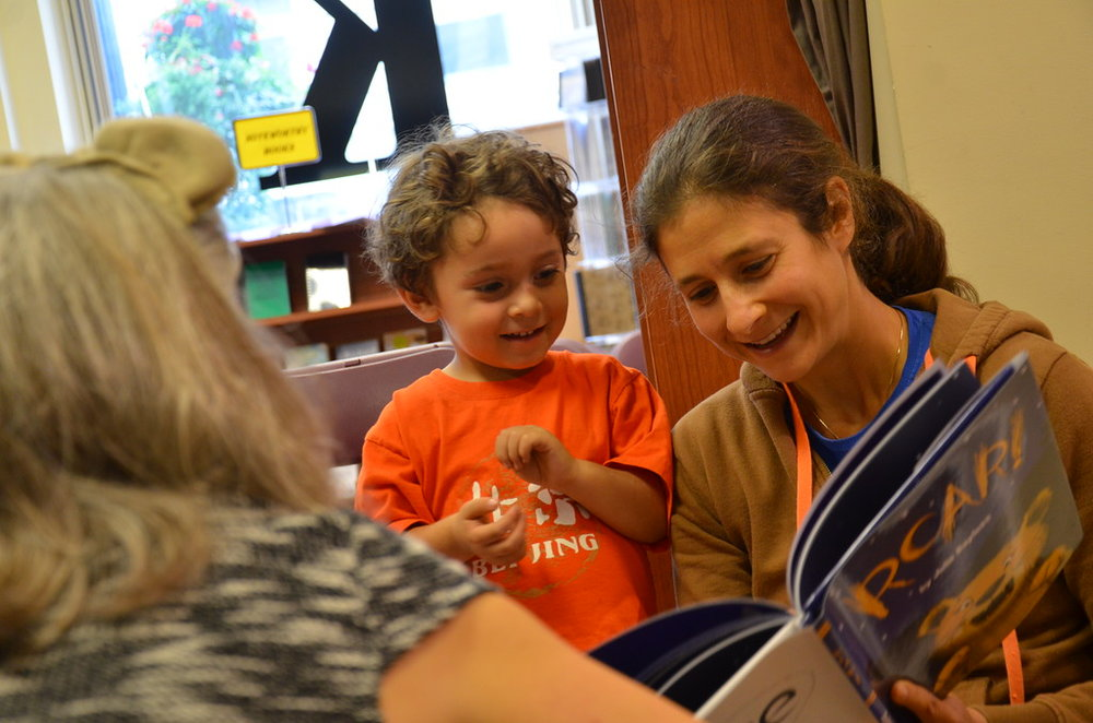 Sweet kid at my book launch!