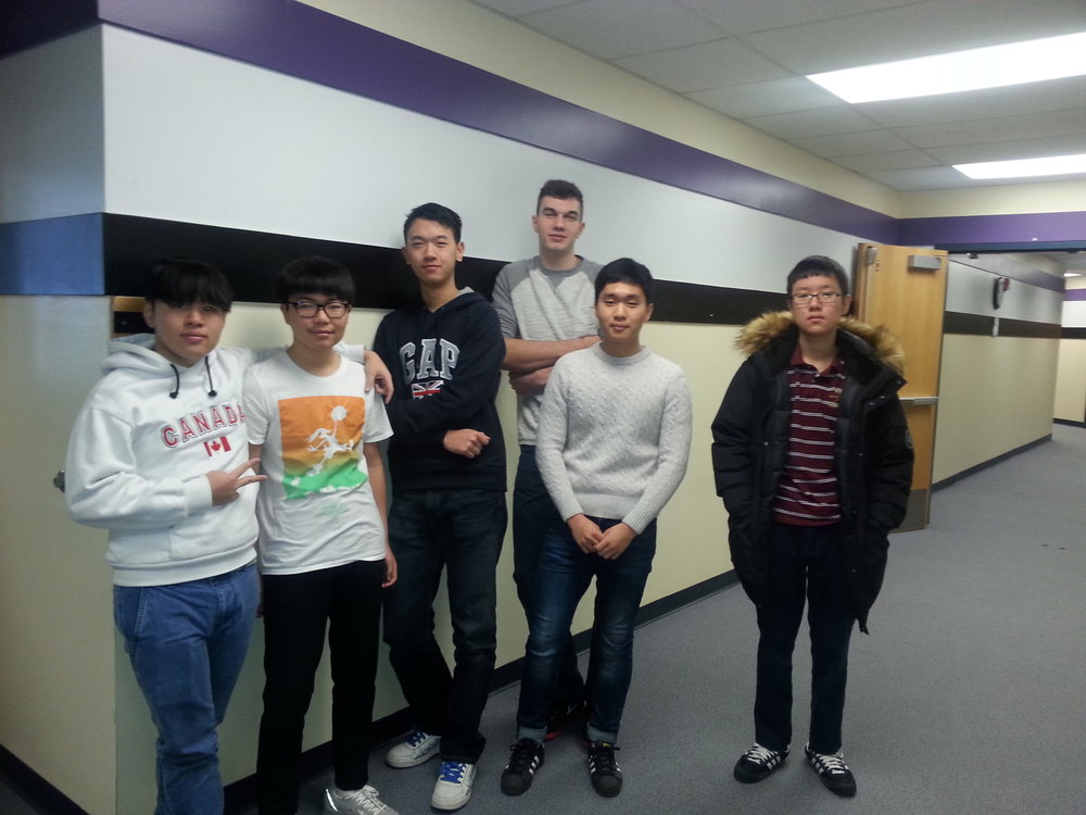 LCS currently has students from Korea, Croatia, Thailand, China and Vietnam.