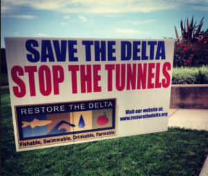 save the delta, stop the tunnels