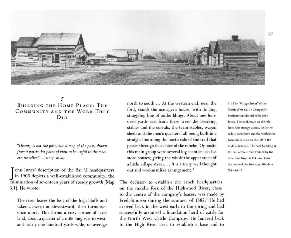 The Bar U and Canadian Ranching History (PDF •17MB)