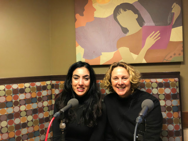 Heather with Gisele Fetterman
