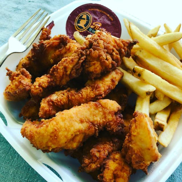 Puritan Backroom chicken tenders