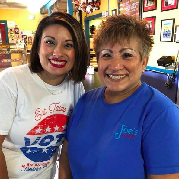 Regina Estrada and her mother Rose Ann Maciel