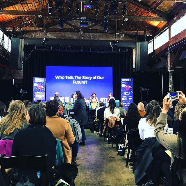 #werkitfestival #flushingnyc @knockdowncenter Who is telling the story.