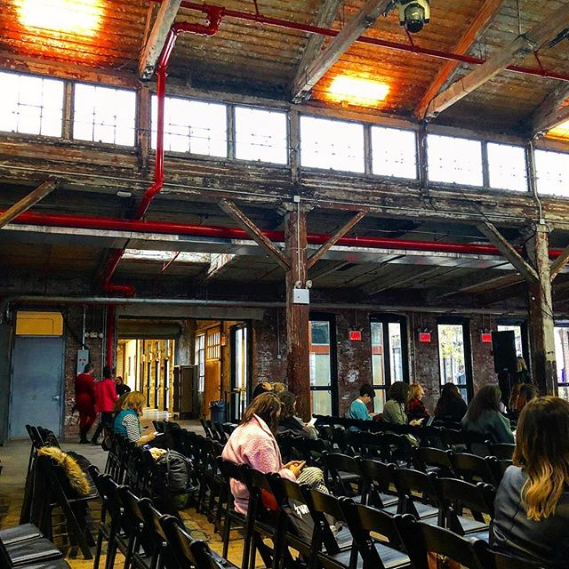 #werkitfestival end of the day. #knockdowncenter #podcasting #stories #diversity #editorregetit #dailyshows
