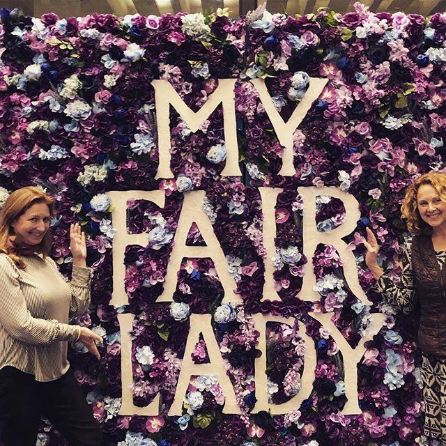 The Two Moms on #Broadway. #midtermsgotmelike #memorylane