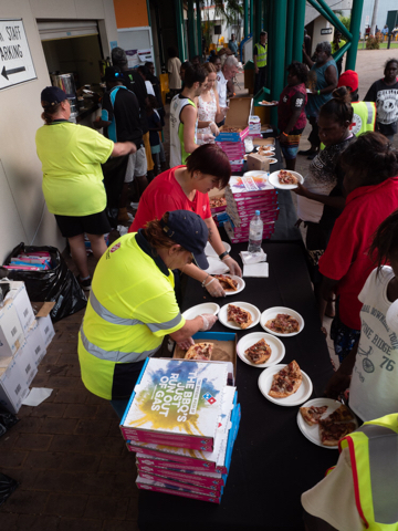 190325 – Cyclone Trevor pizza donations (Darwin City & Millner stores) (3).JPG