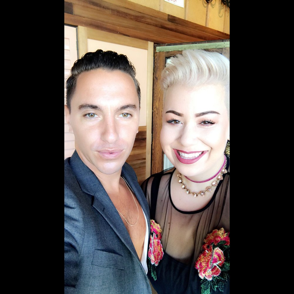 Scotty Cunha, Paul Mitchell the school Costa Mesa Alumni and best known for being hairstylist to the Kardashian/Jenner clan.