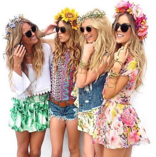 coachella florals
