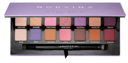 How pretty is this palette? Just looking at it, inspires the beauty guru in me. Anastasia shadow formula is so beautiful, easy to blend and pigmented.