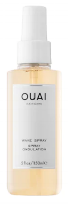 Ouai Wave Spray is great for achieving effortless waves. I love to spritz this on to half blow dried hair and into the roots for extra volume.