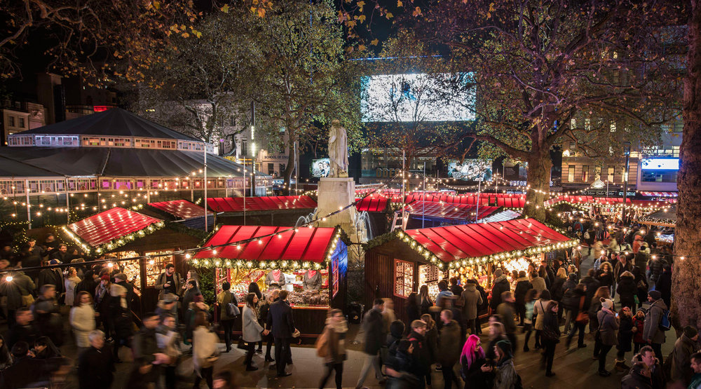 Leicester Square - Christmas Market