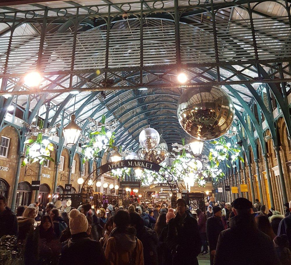 Covent Garden - Apple Market