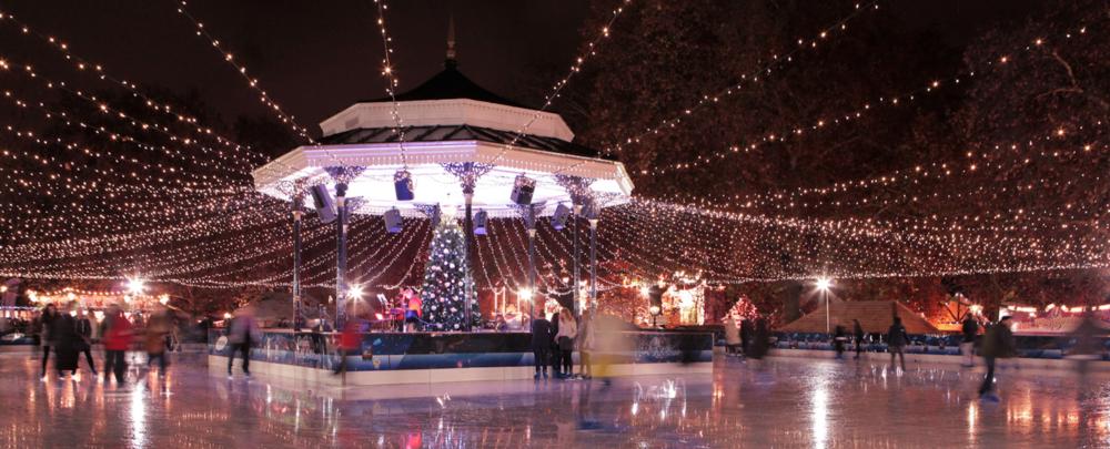 Winter Wonderland, Ice rink