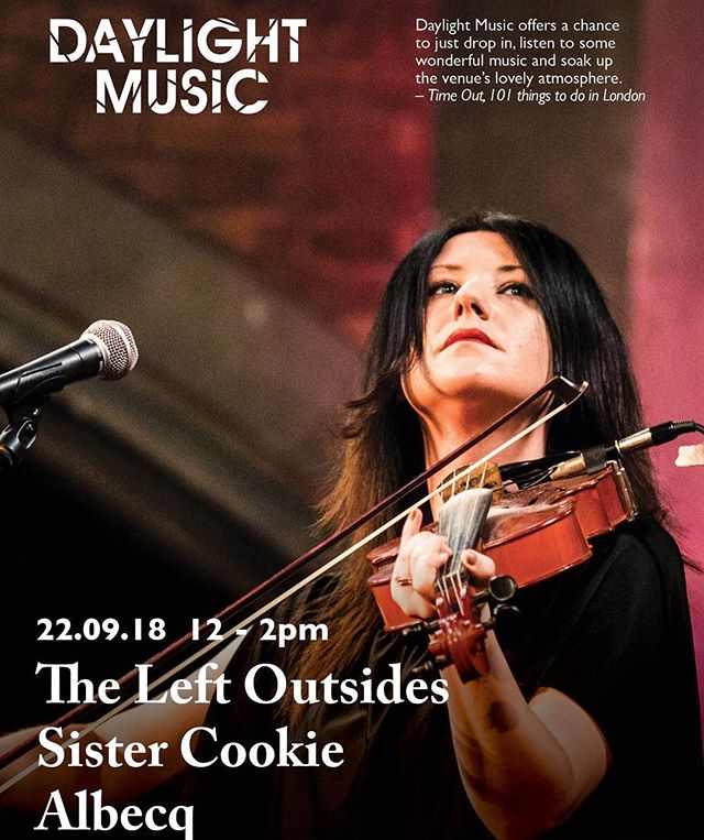 TOMORROW @unionchapeluk midday. See you there!