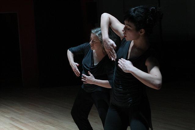 Sally Silvers and Dancers BONOBO MILKSHAKE (2012)  Brooklyn Roulette, NYC  Photo: Julie Lumberger