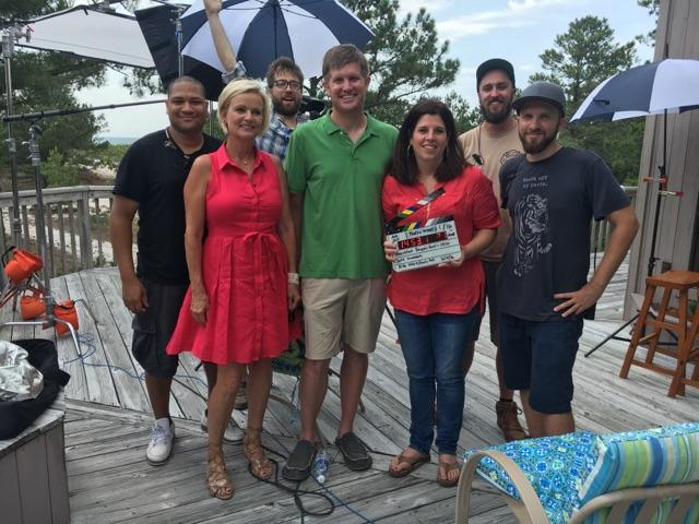 Phillip, Jordan, Eva, our realtor, and the crew.