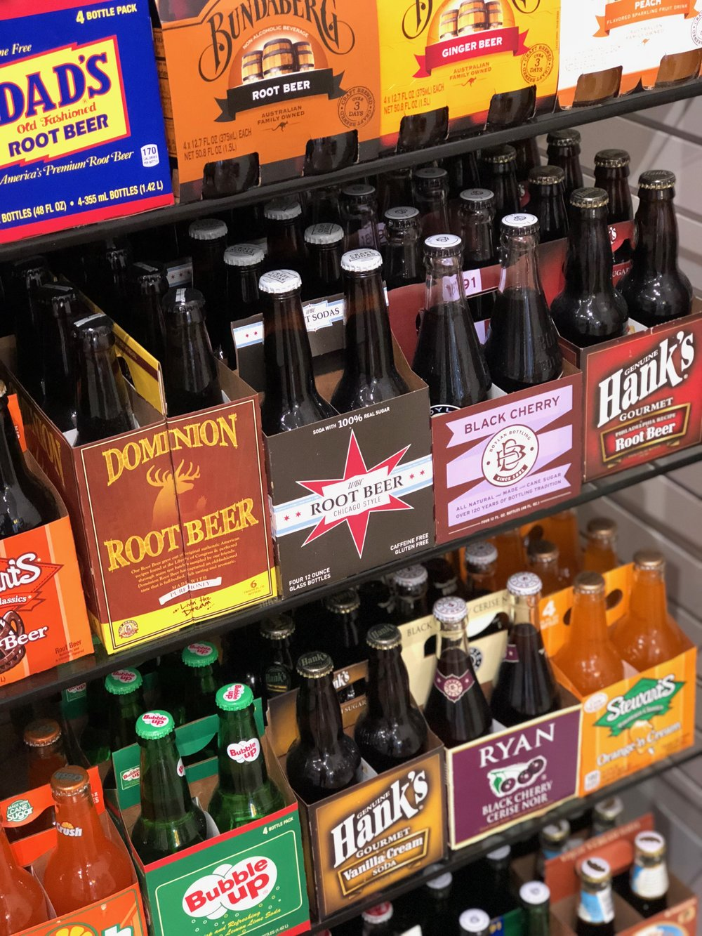Craft Soda - At Cape Charles Candy Company we have a large selection of craft and nostalgic soda to choose from for your trip to the beach! Mix and match a 6 pack or get a cold one to go.