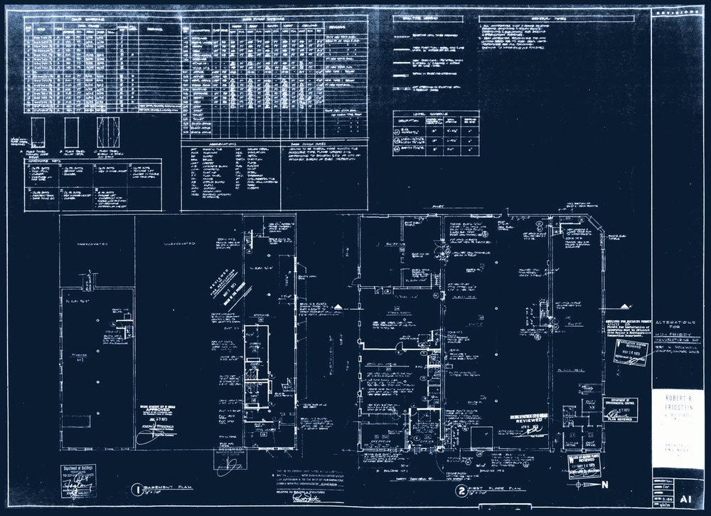 1973 Blueprint