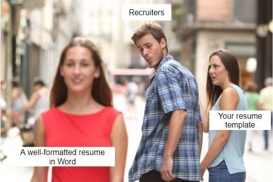 Write a resume that turns heads.JPG