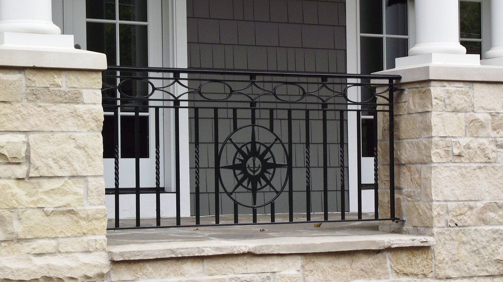 Nautical Themed Railing