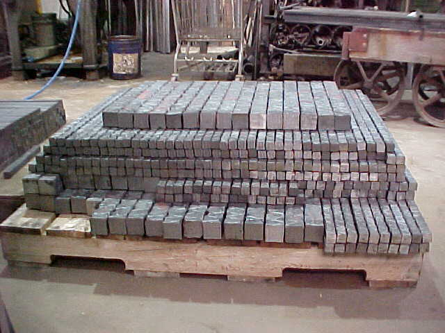 "Texured 2"" Square Material"